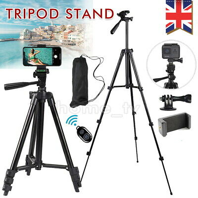 Universal Mobile Phone Tripod Stand Grip Holder Mount For Cameras Phones Remote • 13.99£