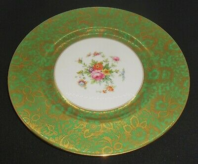 Good Minton Brocade Pattern Cabinet Plate -  7-48 Date Code - Measures 10 5/8  • 25£