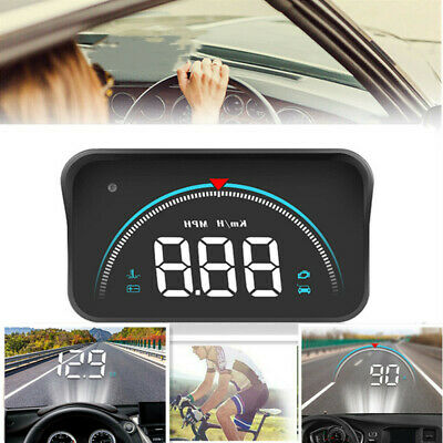 Color Digital Gps Speedometer Projector Hud Overspeed Warning Clock For Car  • 17.99£