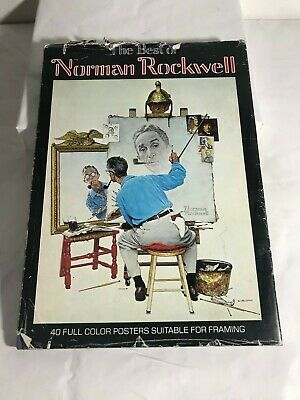 $ CDN15.57 • Buy The Best Of Norman Rockwell 40 Full Color Posters Suitable For Framing