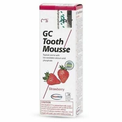 AU27.17 • Buy Dental-GC-Tooth-Mousse-40g-Tube-1-Pcs-Strawberry