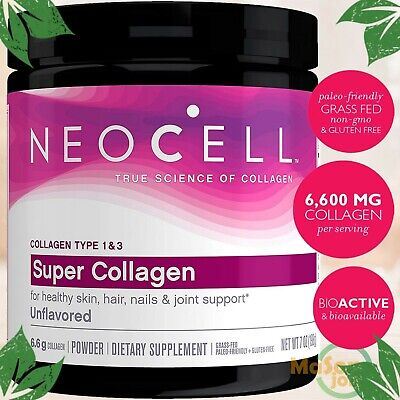$18.30 • Buy NeoCell Super Powder Collagen Type 1 & 3 Hair Skin Joints Bones Nails Care 7 Oz