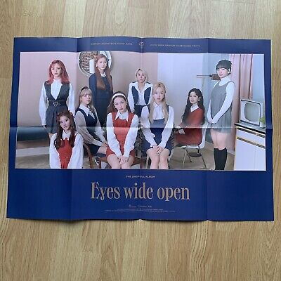 Kpop Twice Official I Can't Stop Me Eyes Wide Open Poster Retro Version • 3.99£