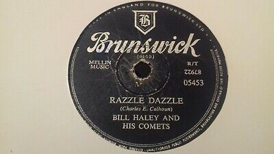 BILL HALEY AND HIS COMETS - Razzle Dazzle 78rpm   • 6.99£