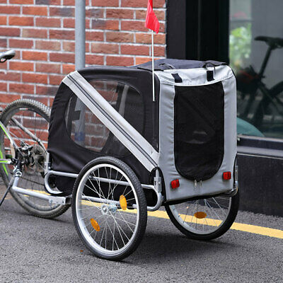 £79.95 • Buy Bicycle Child Carrier Baby Dog Pet Trailer Stroller Jogger Cycle Luggage Grey