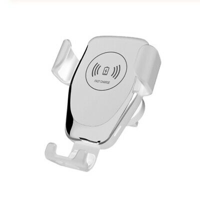 $ CDN16.29 • Buy Qi Wireless Automatic Car Charging Charger Mount Clamping Air Vent Phone Holder