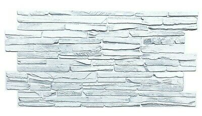 £7 • Buy PVC 3D Wall Panels Decorative Covering Tile Cladding White Light Grey Effect