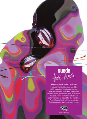Suede : Head Music CD 20th Anniversary  Box Set With DVD 5 Discs (2019) • 42.21£