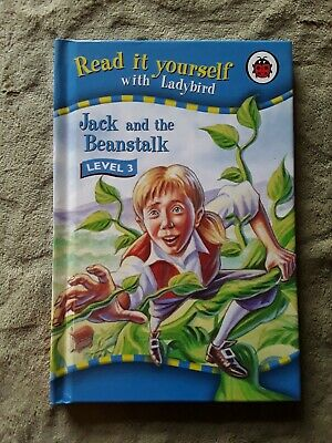 Ladybird Read It Yourself Jack And The Beanstalk Level 3 Gloss  • 1.50£