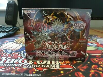 Yugioh Legendary Duelists Rage Of Ra Booster Box 1st Edition 36 Packs • 74.99£