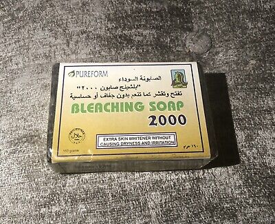 £8 • Buy *Pureform Bleaching Soap 2000 With Extra Skin Whitener✨