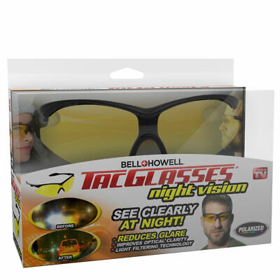 AU38.29 • Buy Bell+Howell Night Vision Tac Glasses
