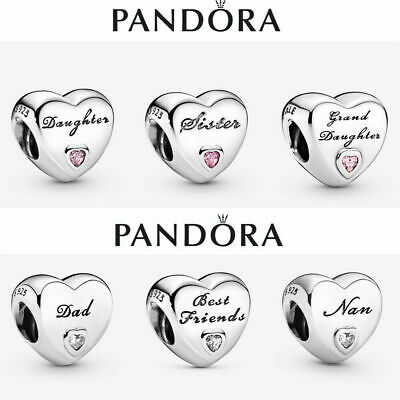 New Genuine Silver Pandora Heart Charm Ale S925 & With Gift Box • 12.88£