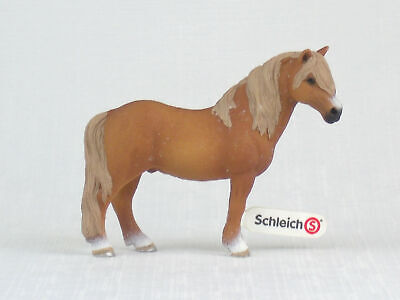 SCHLEICH Horse Model DARTMOOR PONY STALLION With Tag RETIRED • 11.27£