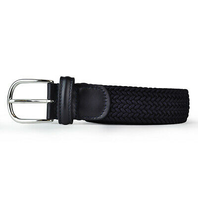 New Andersons B0667 Woven Textile Belt Navy • 70.55£