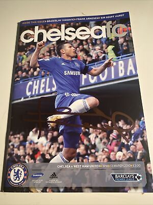 Chelsea Programme Signed By Frank Lampard, Terry, Ashley Cole  • 20£