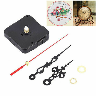 AU10.99 • Buy Replacement Quartz Wall Clock Movement Mechanism Motor With Hands & Fittings Kit