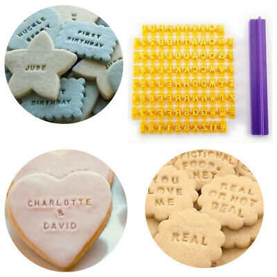 AU10.26 • Buy Biscuit Cutter Number Alphabet Fondant Cookie Mould Cake Cutter Baking Tools AU