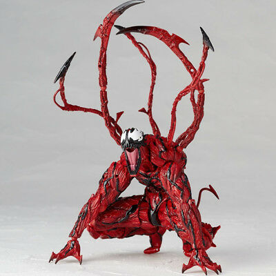 6  Yamaguchi Marvel Carnage Venom Action Figure Model Toys Kid Collection Gifts • 18.49£