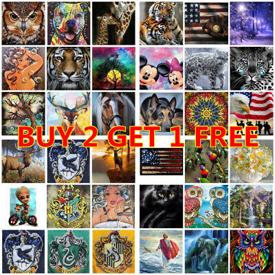 AU10.99 • Buy 5D DIY Full Drill Diamond Painting Embroidery Kits Home Decor Xmas Gifts