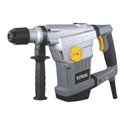 View Details Titan SDS Max Drill & Chisel Corded Electric 6-Speeds TTB572SDS 1250W 110V • 85.49£