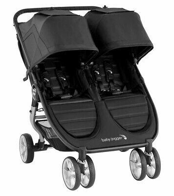 Baby Jogger 2020 City Mini 2 Double Stroller - Jet - New! Free Shipping! • 361.79£