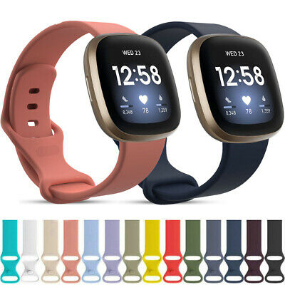 $ CDN5.21 • Buy For Fitbit Versa3/ Sense Accessories Wristband Band Classic Bracelet Strap Watch