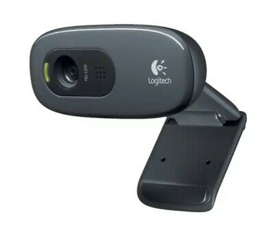 AU39.99 • Buy Logitech C270 HD Webcam With Built In Mic And Lighting.
