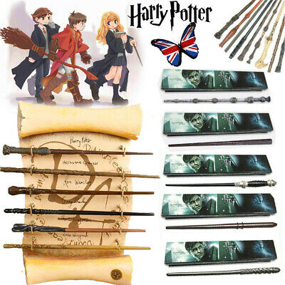 Magic Wand Harry Potter Hermione Dumbledore Voldemort Wand Cosplay Toy Boxed UK • 8.99£