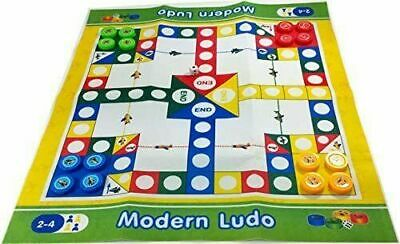 Ludo Jumbo Classic Game Childrens Fun 81x70cm Traditional Kids Game Family Large • 5.50£