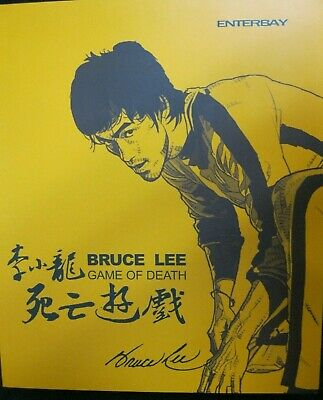 $450 • Buy Bruce Lee Game Of Death Enterbay 1:6 Scale Real Masterpiece Figure Used Coa