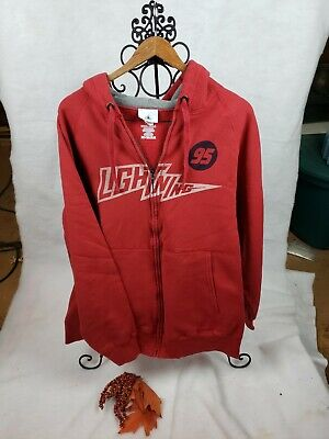 Disney PIXAR Cars Hoodie/Sweatshirt - Lightning McQueen Size 2xl  Zip Up  • 11.61£