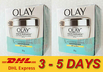 AU64.45 • Buy 2 X Olay White Radiance Cellucent Protective Cream SPF 24 50g.