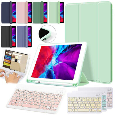 Smart Leather Folio Case Wireless Keyboard Cover For Apple IPad Air 4 10.9 2020 • 18.13£