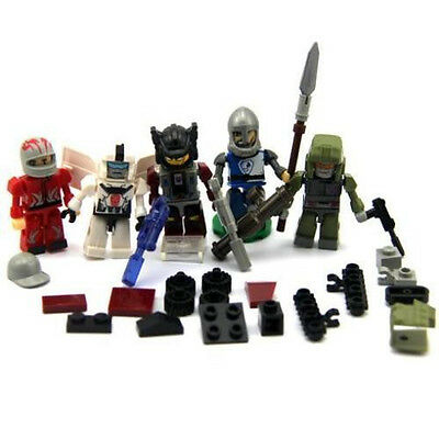 New 5xTRANSFORMERS Optimus Prime KRE-O KREON PROWL Building Action Figure Toy • 3.39£