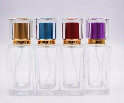 50ml Empty Glass Perfume Aftershave Atomizer Atomiser Bottle Refillable  • 7£
