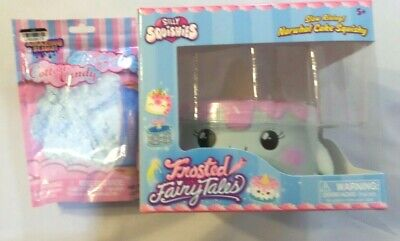 AU23.79 • Buy New Genuine Silly Squishies Narwhal Cake And Amazing Slime Cotton Candy