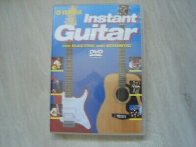 Instant Guitar For Electric And Acoustic - ( Music / Dvd ) - Yamaha • 1.84£