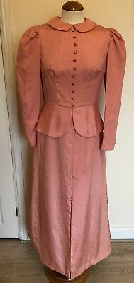 £42 • Buy Ladies Vintage Antique Style 1900s Victorian Edwardian Dress Theatrical Costume