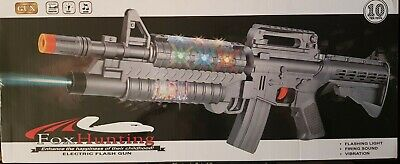 £10.99 • Buy New Army Military Assault Guns/Rifle MP5 Laser Lights Projection Sound Kids Toy
