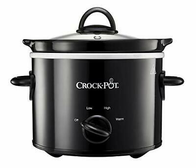 Crock-Pot Slow Cooker | Removable Easy-Clean Ceramic Bowl | 1.8L Small Slow • 20.99£