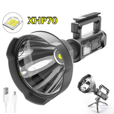 AU59.99 • Buy P70 Powerful LED Flashlight XHP70.2 Torch Rechargeable Working Camping Light