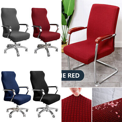 AU14.49 • Buy Stretch Computer Office Chair Covers Slipcovers Desk Rotat Seat Cover Protector!