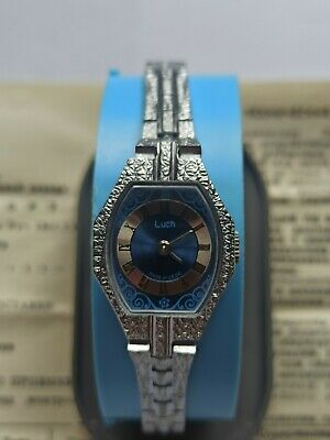 £21.25 • Buy ⭐NEW⭐ Ladies Watch USSR LUCH Mechanical Soviet Russian 17 Jewels Vintage