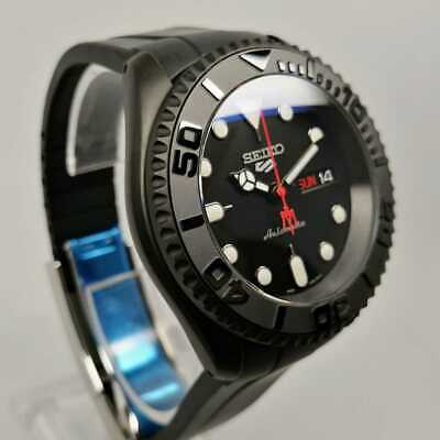 $ CDN1273.83 • Buy Assembly Seiko Mod Black Boy Custom Diver Skx007 Yacht Master Type Dlw Case