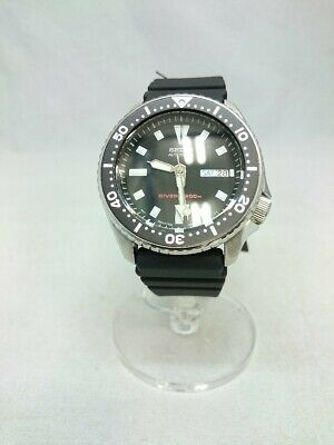 $ CDN735.57 • Buy Seiko Quartz Watch/Analog/Rubber/Blk/Skx173/Divers 200M