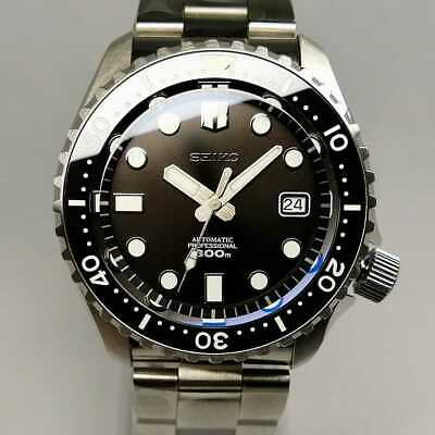 $ CDN1353.98 • Buy Assembly Seiko Mod Black Boy Custom Diver Skx007 Marine Master Prospex Type