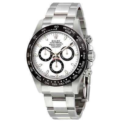 $ CDN41152.61 • Buy Rolex Cosmograph Daytona White Dial Stainless Steel Oyster Men's Watch 116500WSO