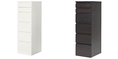 IKEA Malm Chest Of 6 Drawers 40x123cm • 169.99£