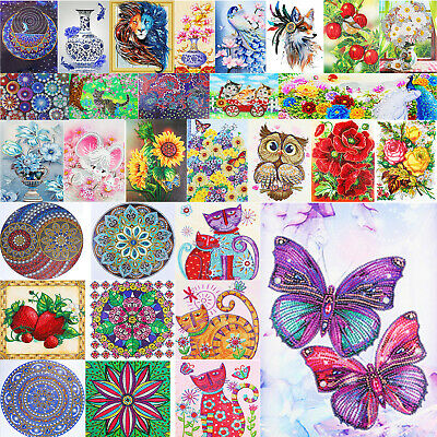 AU13.78 • Buy 5D DIY Special Shaped Diamond Painting Kits Home Cross Stitch Partial Drill